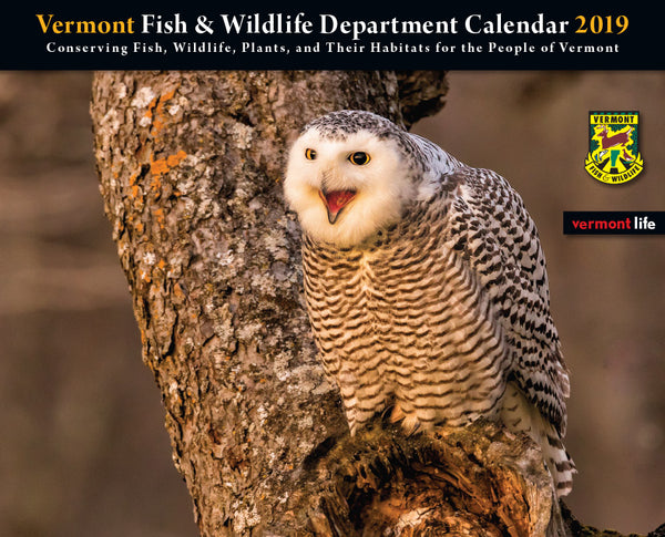 2019 Fish & Wildlife Department Calendar