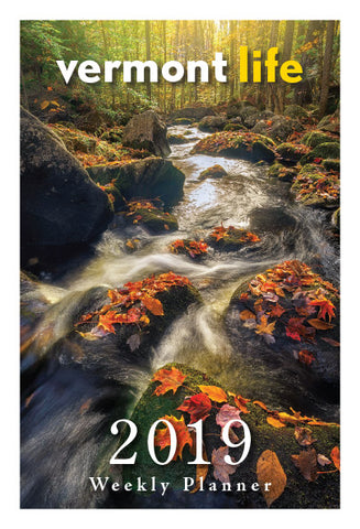 2019 Vermont Life Weekly Planner