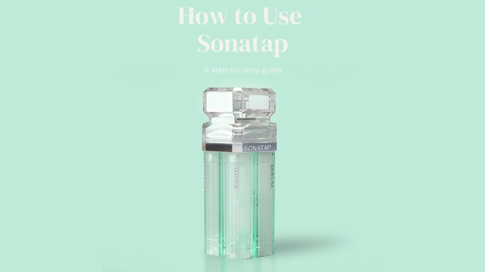 How-to-Use-Sonatap-skincare-device-beauty-tool-user-guide-manual-refill