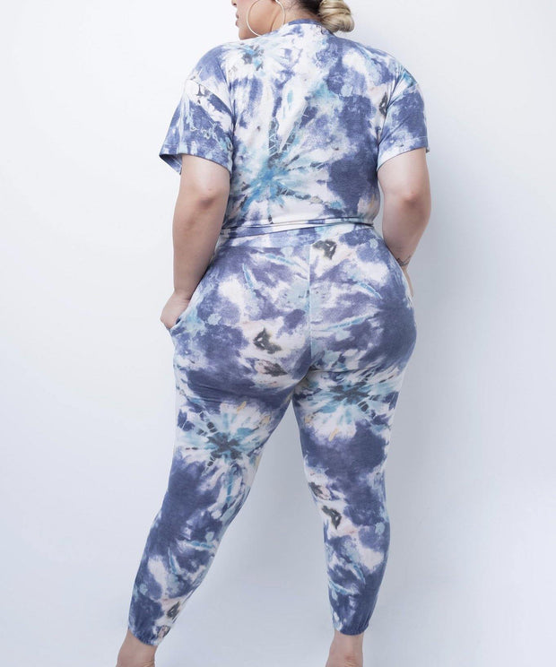 Rosaline Tie dye Two Piece Set | Women Two Piece Set | Mo's Unique Fashion LLC
