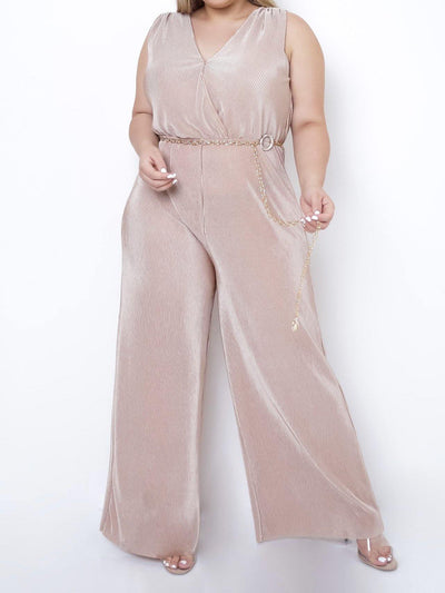 Board Walk Wide Leg Jumpsuit | Ladies Jumpsuits | Mo's Unique Fashion LLC