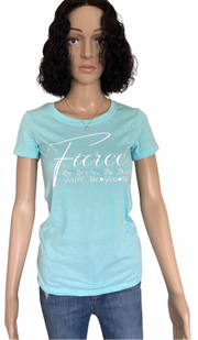 Fierce T- Shirt  | Women Fashion T Shirt | Mo's Unique Fashion LLC