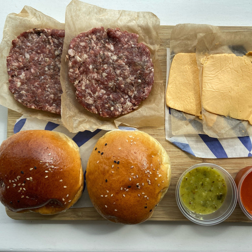 DIY Burger Kit x 4