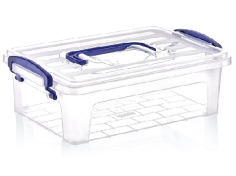 6 lt Clear Box with Handle