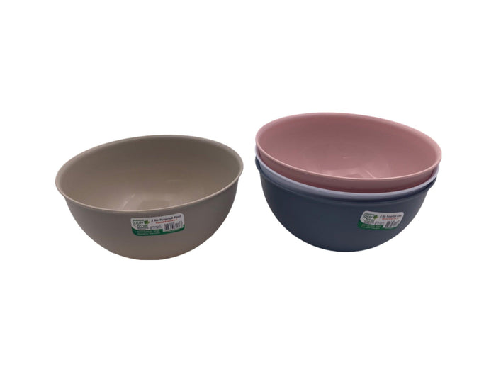 Colorful Round Bowl; 2 lt