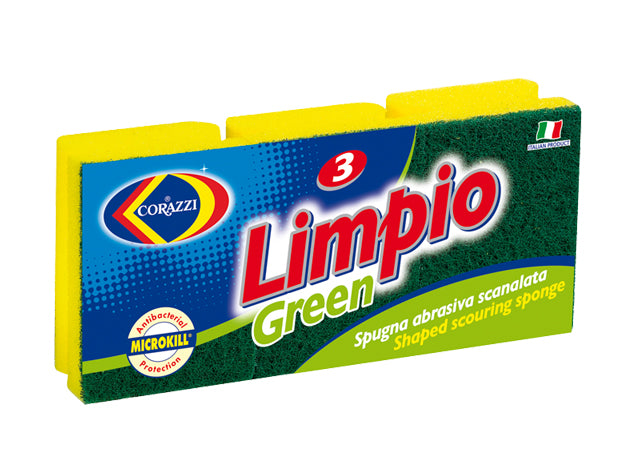 Limpio Green Spong and Scourer