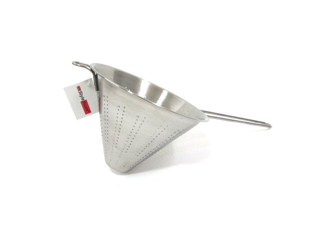 Stainless Steel conical punching strainer; 20 cm