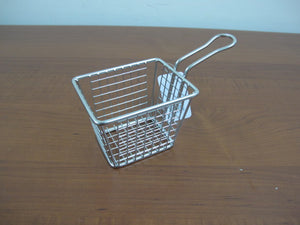 French Fries Serving Basket; 10 cm. - HouzeCart