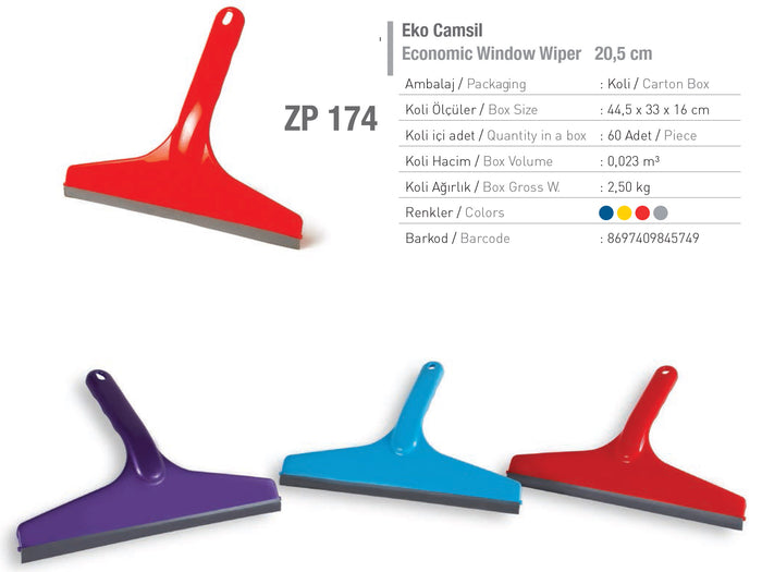 Squeegee Counter Wiper X2