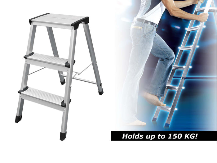 3 step Aluminium Stool