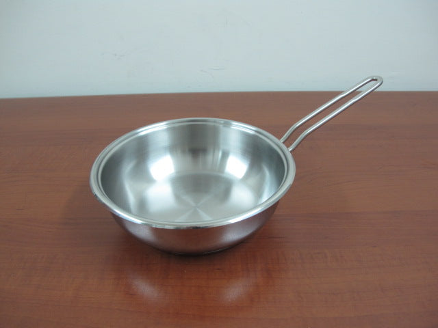 Stainless Steel Frying Pan; 20 cm