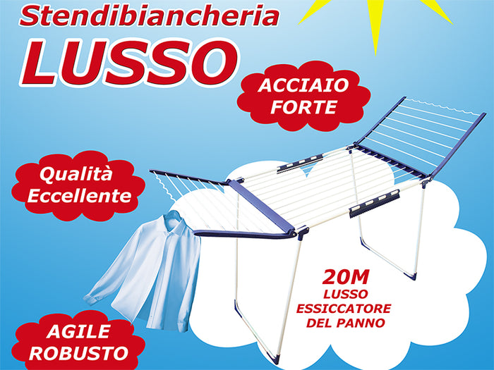Lusso Metallic Clothes Dryer
