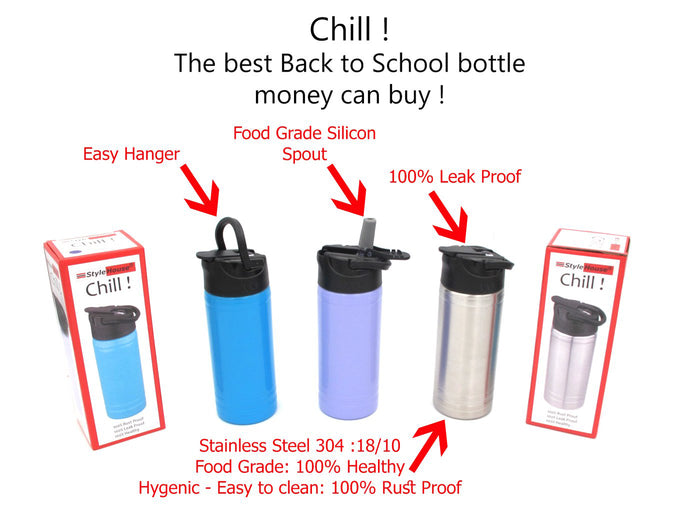 Stainless Steel Chill Bottle for Kids