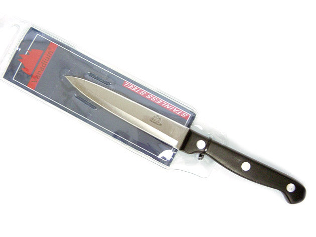 Utility Kitchen Knife with Serrated Edge; 10 cm