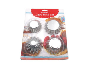 8 Pieces Mini Tart Molds