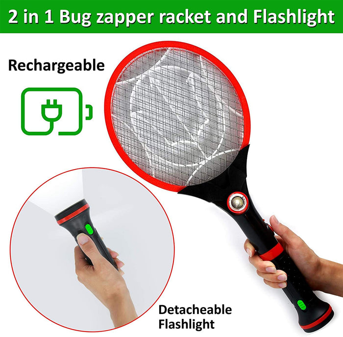 2 in 1 Electric Bug Zapper and Flashlight