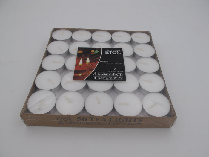 Tea light candles X50