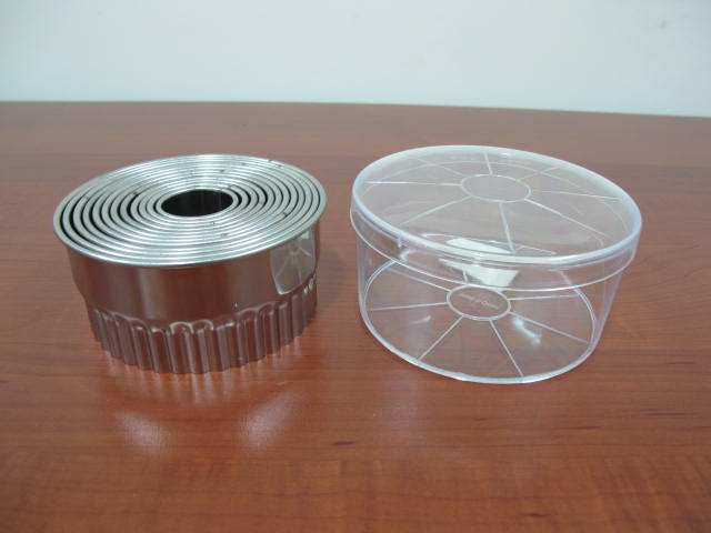 Stainless Steel fluted Round Dough Cutter