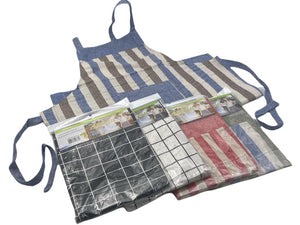 Designed Cotton Apron with Pocket - HouzeCart