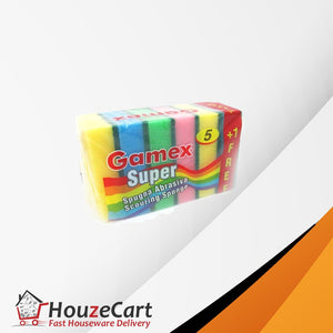 Gamex Super Quality Sponges & Scourers - HouzeCart