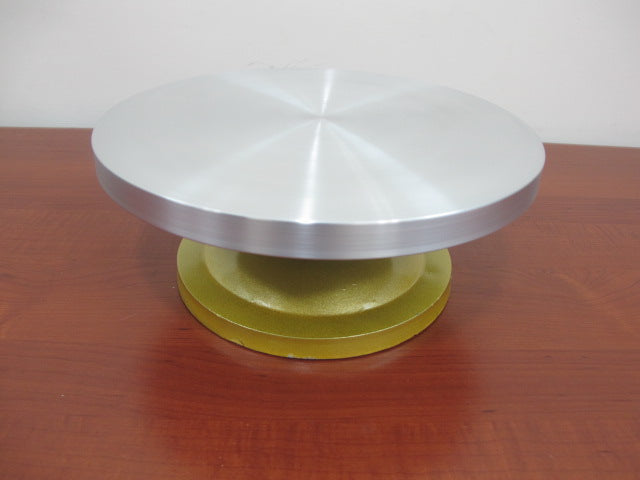 Aluminum Turntable for Cakes and Desserts