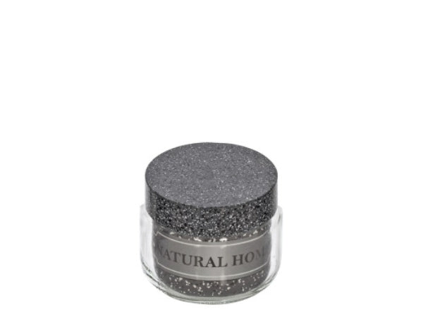 Glass Jar with Granite Cover; 425 ml
