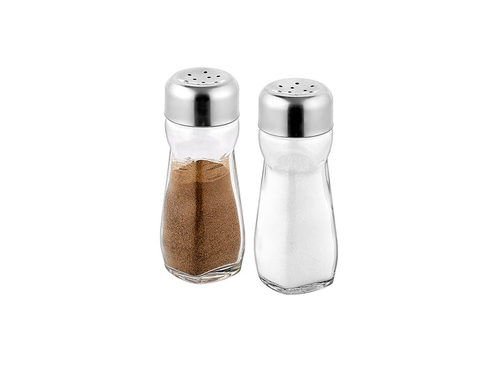 Salt Shaker With Stainless Lid