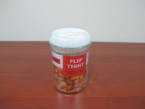 Flip Tight Round Jar; 0.75 lt - HouzeCart