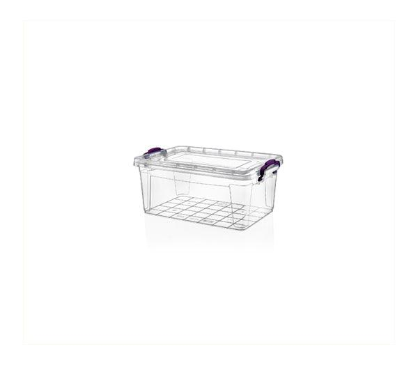 Clear Storage Box; 0.75  lt X2