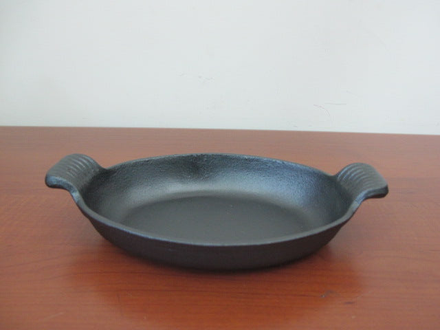 Oval Cast Iron Pan; 20 cm