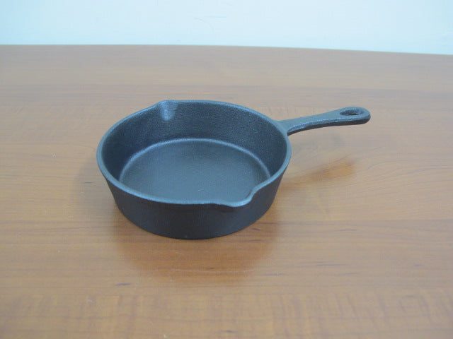 Cast Iron Small Frying Pan; 14 cm