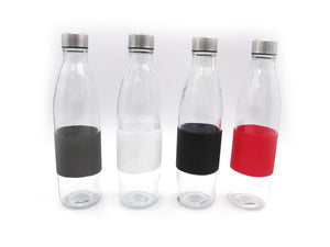 Glass bottle with silicone - HouzeCart