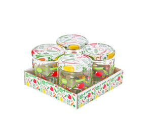 Vegetables Drawings Jars; 0.425 lt - HouzeCart
