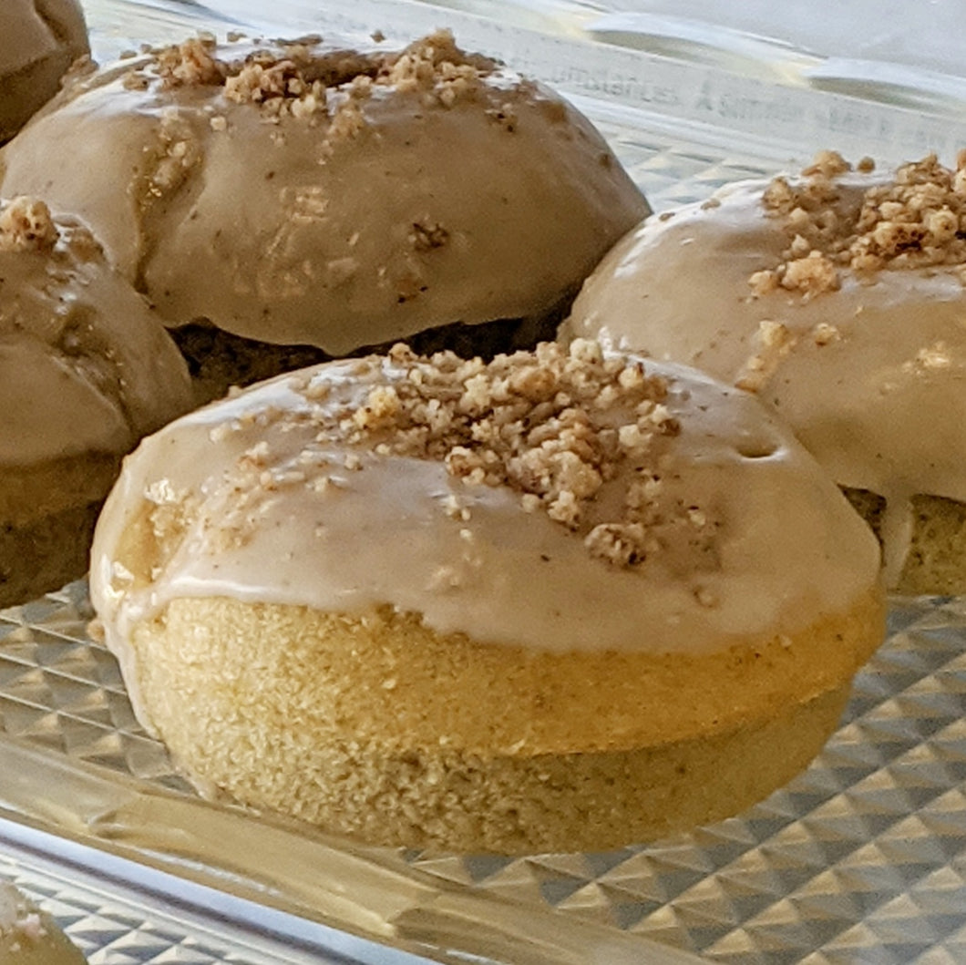 Apple Crumble Donuts