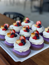 Load image into Gallery viewer, Bespoke Ube (purple yam) + Pavlova Donuts