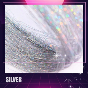 (Buy 3 can free shipping) Sparkly Hair Tinsel Extension✨