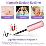 💖Upgraded 3D Reusable Magnetic Eyelashes Kit (3 Pairs+Eyeliner + magnet + tweezers)💖