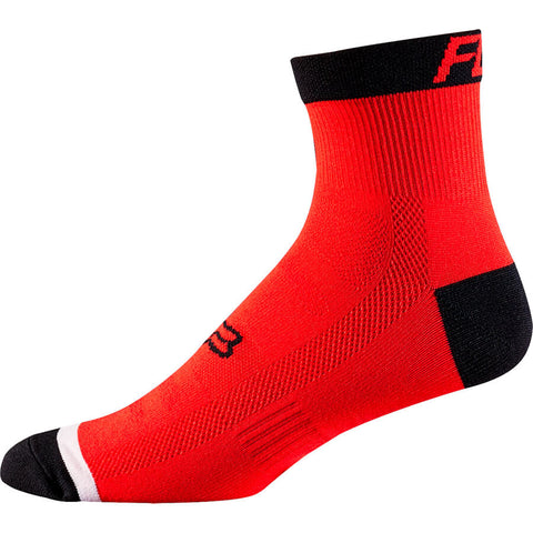 "CALCETINES FOX TRAIL 4"" ROJO NEGRO"