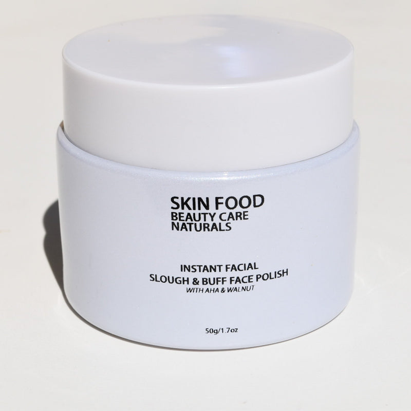Instant Facial Exfoliating Polish - Beauty Care Naturals