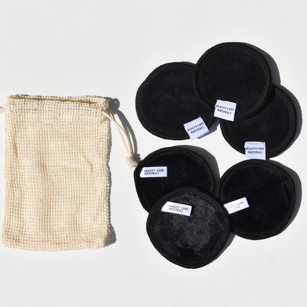 Make Up Remover & Multi Purpose Reusable Pads Set - Beauty Care Naturals