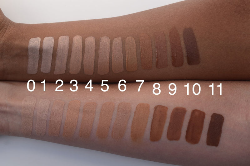 Second Skin Color Match Foundation - Beauty Care Naturals