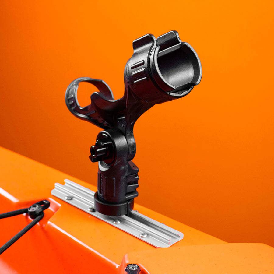 YakAttack Omega Rod Holder with Track Mounted LockNLoad Mounting System