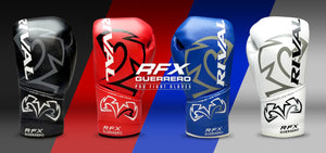 Rival RFX Guerrero Pro Fight Gloves. Boxing Gloves for training and fighting.