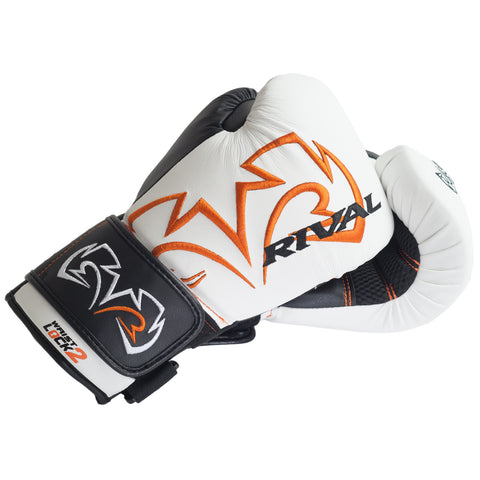 Rival RB11 Evolution Bag Gloves White - Bob's Fight Shop