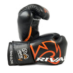Rival RFX Guerrero Bag Gloves Velcro (HDE-F) Black/Orange - Bob's Fight Shop