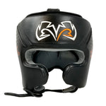 Rival RHG10 Intelli-Shock Headgear Black - Bob's Fight Shop