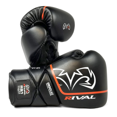 Rival RS1 Ultra 2.0 Sparring Gloves Black - Bob's Fight Shop