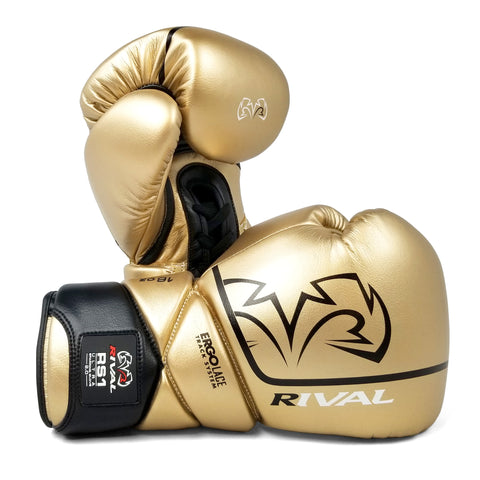 Rival RS1 Ultra 2.0 Sparring Gloves Gold - Bob's Fight Shop