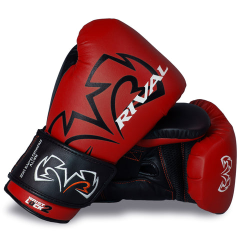Rival RS11V Evolution Sparring Gloves Red - Bob's Fight Shop