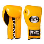 Cleto Reyes Lace-up Training Gloves Yellow - Bob's Fight Shop